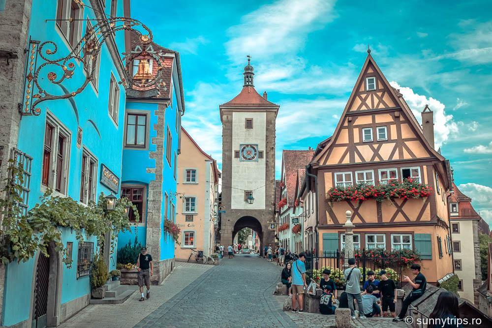 Rothenburg ob der Tauber: Plönlein