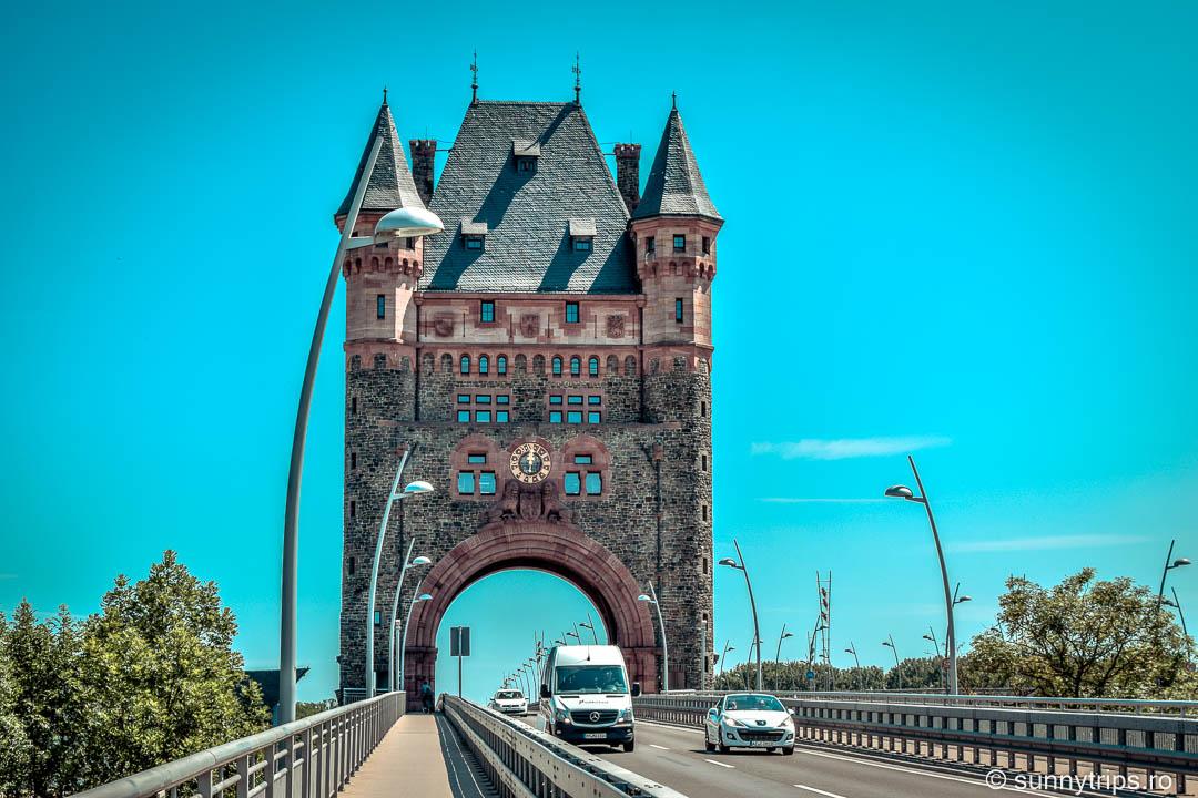Worms - Podul peste Rin din Orașul Nibelungilor