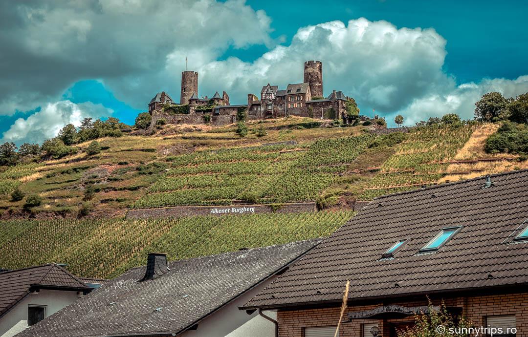 castelul Thurant: vedere din Alken