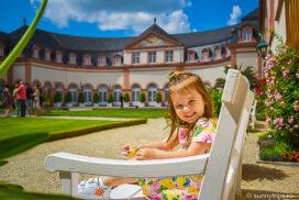 castelul Weilburg: o mica printesa